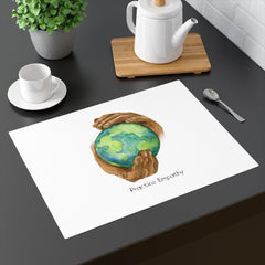 Placemat, Nourishing Home, white-Home Decor-Practice Empathy