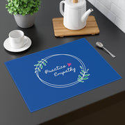 Placemat, Olive Branch Logo, royal blue-Home Decor-Practice Empathy