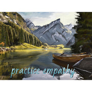 The 5-Day Weekend, Premium Framed Canvas-Canvas-Practice Empathy