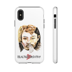 Tough Phone Case, Akin, White-Phone Case-Practice Empathy
