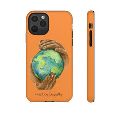 Tough Phone Case, Nourishing Home, Orange-Phone Case-Practice Empathy