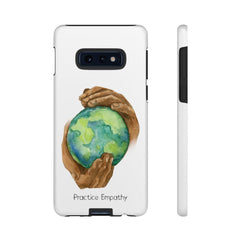 Tough Phone Case, Nourishing Home, White-Phone Case-Practice Empathy
