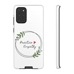 Tough Phone Case, Olive Branch Logo-Phone Case-Practice Empathy