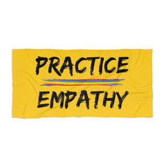 Towel, Rainbow Logo-Home Decor-Practice Empathy