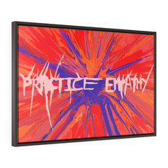 Truth Spurts, Premium Framed Canvas, white-Canvas-Practice Empathy