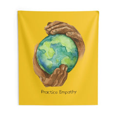 Wall Tapestry, Nourishing Home, yellow-Home Decor-Practice Empathy