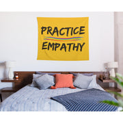 Wall Tapestry, Rainbow Logo, yellow-Home Decor-Practice Empathy