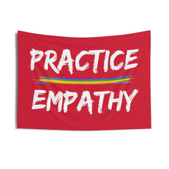 Wall Tapestry, Rainbow Logo-Home Decor-Practice Empathy