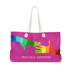 Weekender Bag, My Hand to Yours, magenta-Bags-Practice Empathy