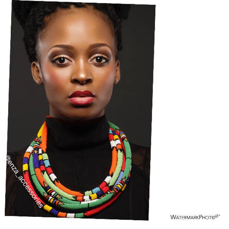 Zulu Girl Necklace Only