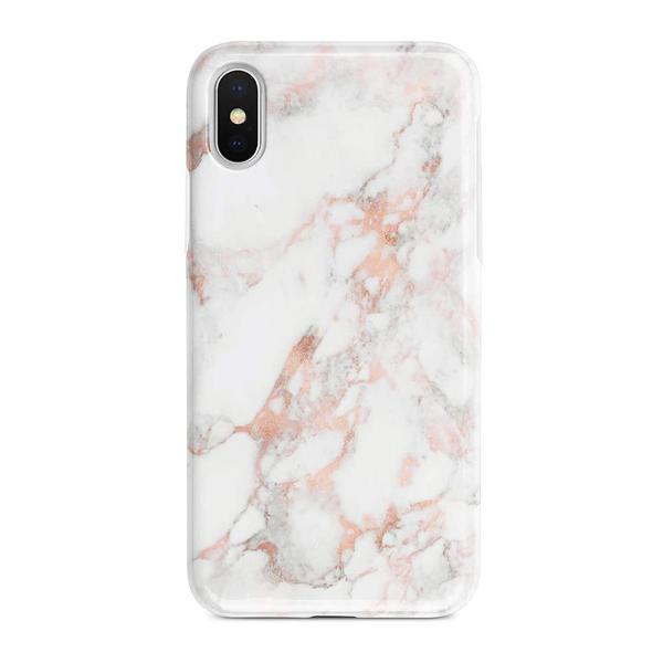 iPhone XS Marble TPU Soft Rubber Silicone