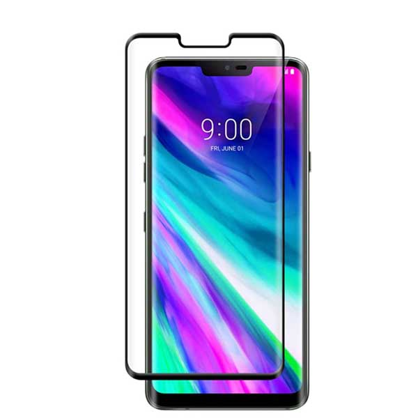 LG G8 ThinQ Tempered Glass Full Cover Black