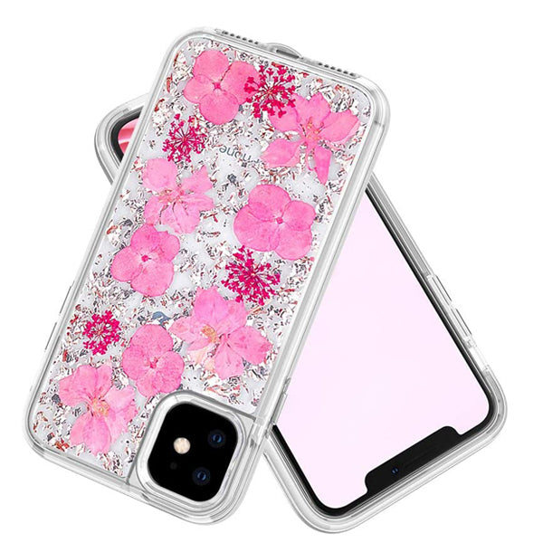 iPhone 12 Mini Real Flower Case
