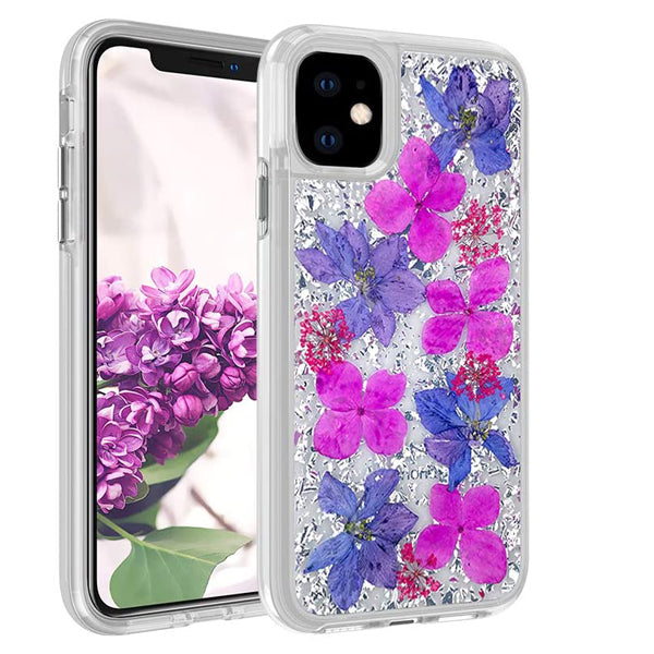 iPhone 12/12 Pro Real Flower Case