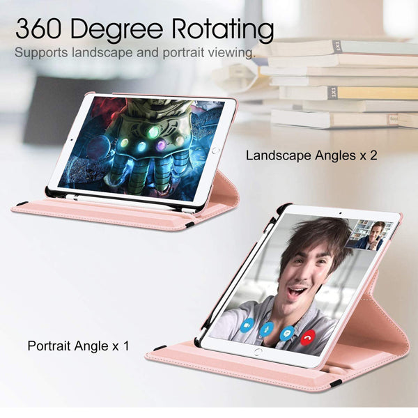 iPad 2,3,4 360 Degree Rotating Stand Case