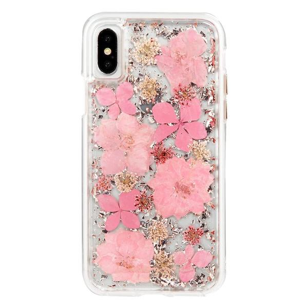 iPhone XR real flower Case