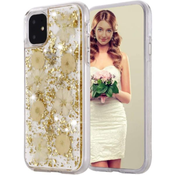 iPhone 11 Pro Real Flower Case