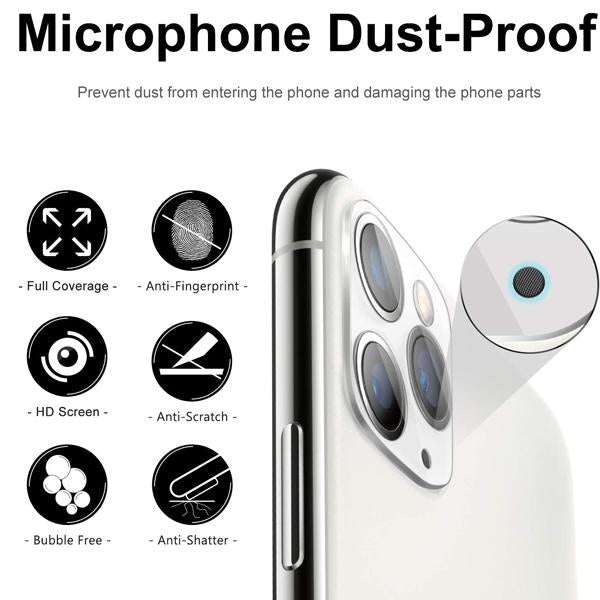 iPhone 11 ProMax Camra Lens Tempered Glass