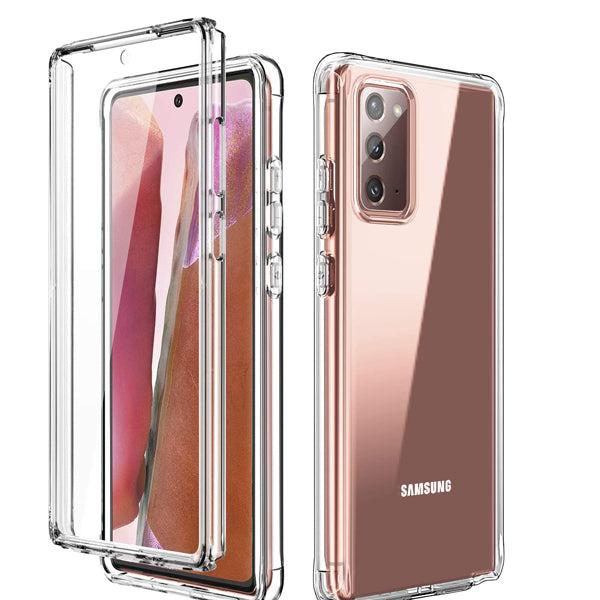 Samsung Note 20 Clear Hybrid Case