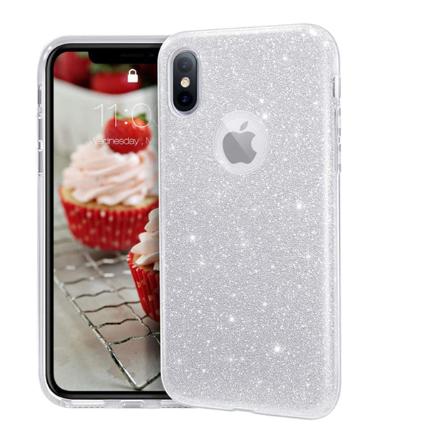 iPhone XR Sparkle Glitter TPU Case