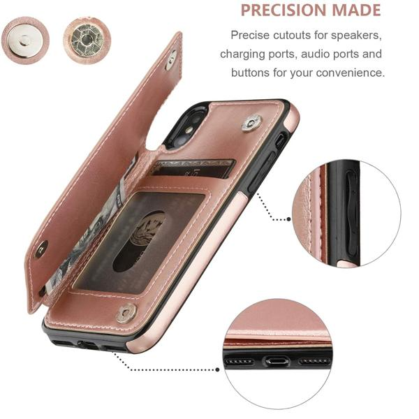 iPhone XR Case Back Wallet