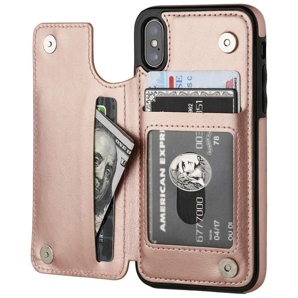 iPhone XS Case Back Wallet