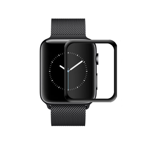 Apple Watch Series 4/5 44mm Tempered Glass Full Black