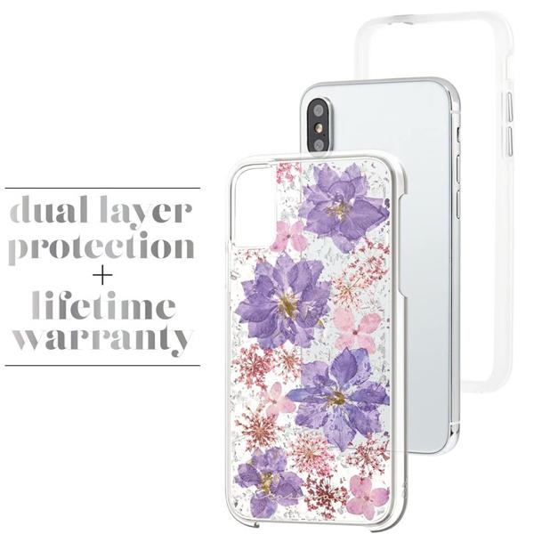 iPhone XS Real Flower Case