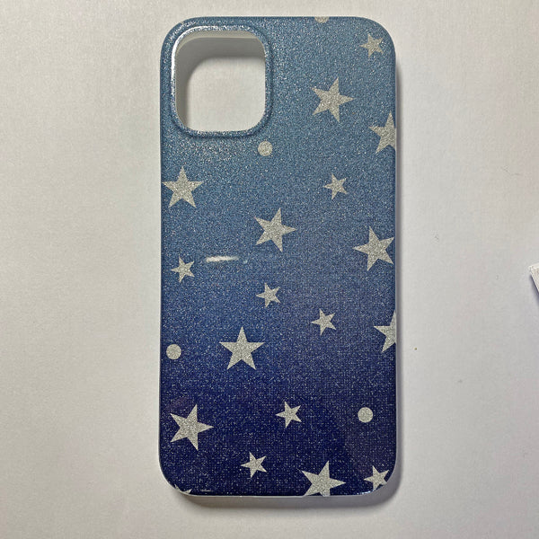 iPhone 12 Mini  Glitter Flower & Star TPU