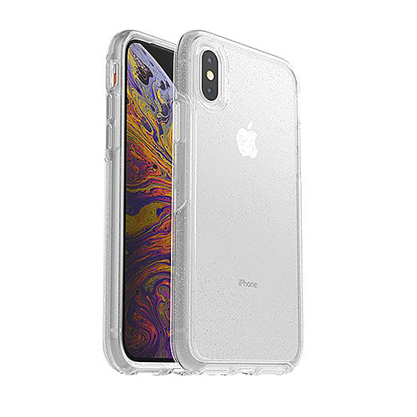 iPhone XS Silver Flake Sym Case