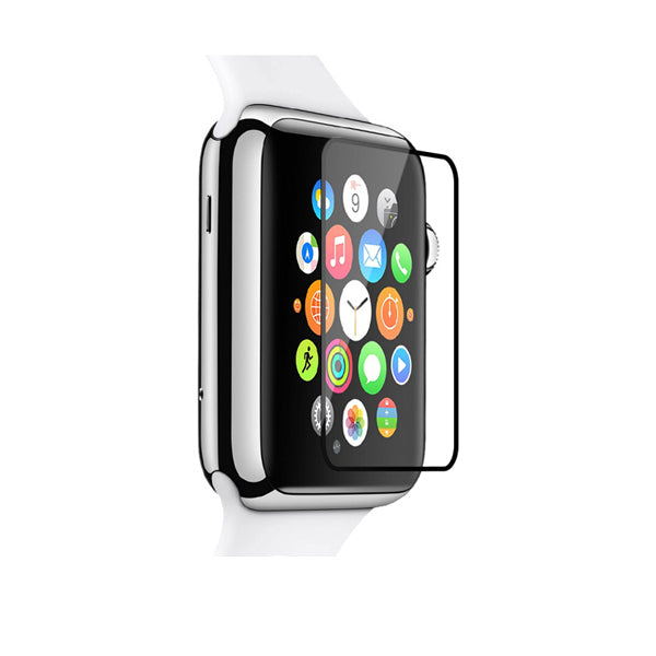 Apple Watch Series 3 42mm Tempered Glass Full Black