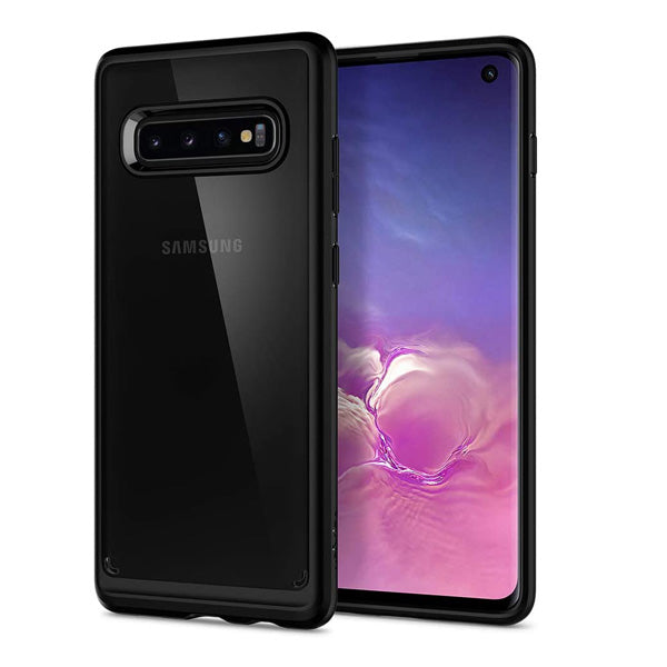 Samsung S10E  Smoke Clear Hybrid Case