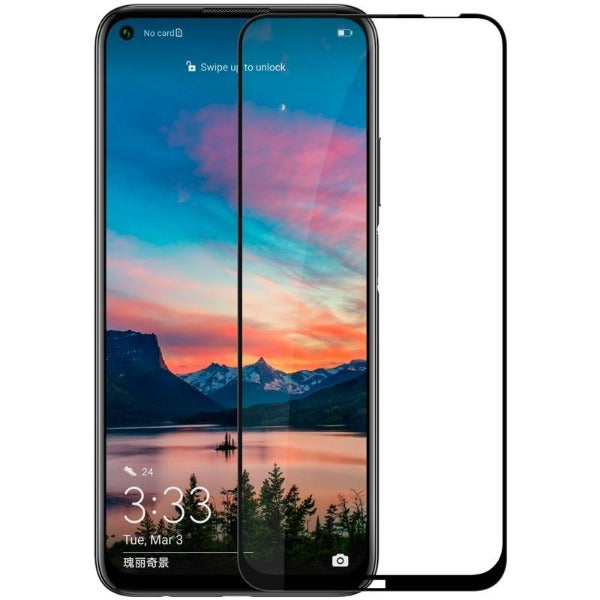 Huawei P40  Temepered Glass Full Cover Black