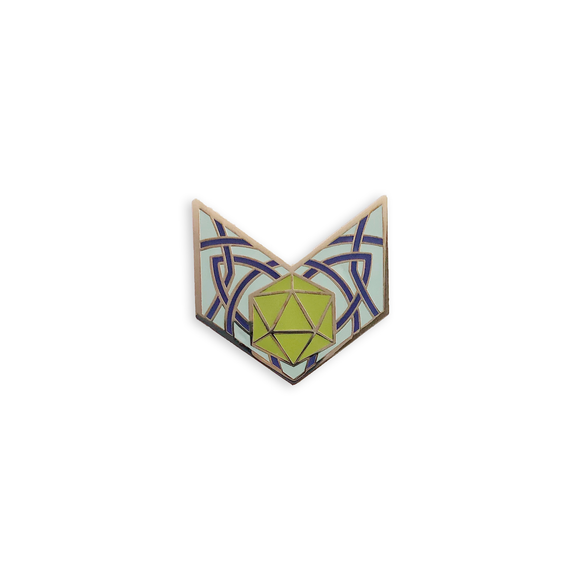 d20 Chevron in Green, Character Builder Series