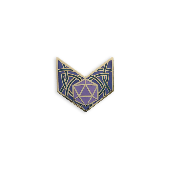 d20 Chevron in Purple, Character Builder Series