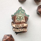 Roll for Initiative - Green Flame