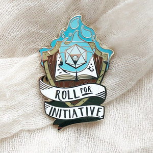 Roll for Initiative - Blue Flame