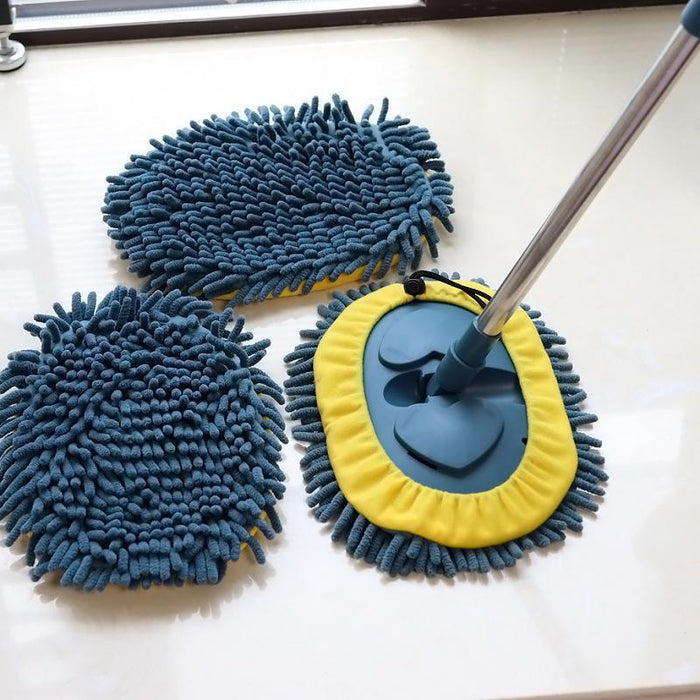 🔥2021 New Year Promotion🔥 3-in-1 Wash Mop Mitt 180° Rotation