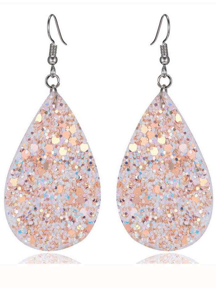 Women Sequin Casual Earrings