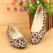 Leopard Flat Heel All Season Flats