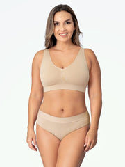 Daily Comfort Throw-on Wirefree Bra AA-DD