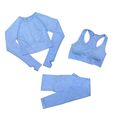 Women's Seamless Yoga Set Workout Sportswear