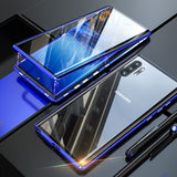 Magnetic Glass Case for Samsung Note 10, S10, S9 Plus & Note 9