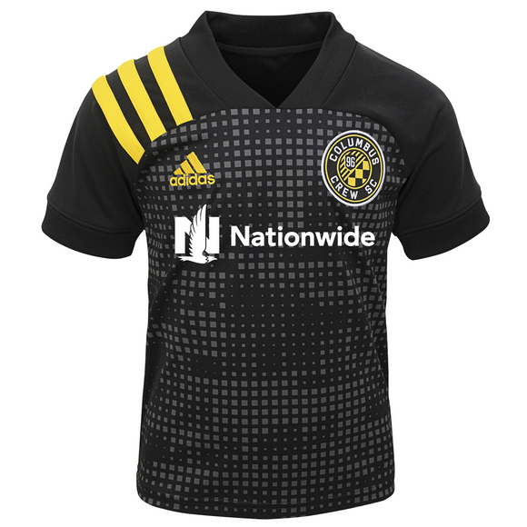 Columbus Crew SC Toddler Black Nationwide Replica Jersey - Columbus Soccer Shop