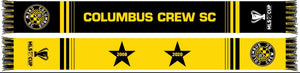 Columbus Crew SC 2 Star Champs Scarf - Columbus Soccer Shop