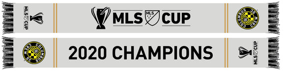 2020 MLS Cup Champs Scarf - Columbus Soccer Shop