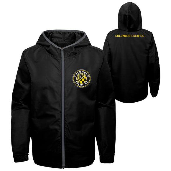 Columbus Crew SC Youth Team All Star Full Zip Jacket - Columbus Soccer Shop