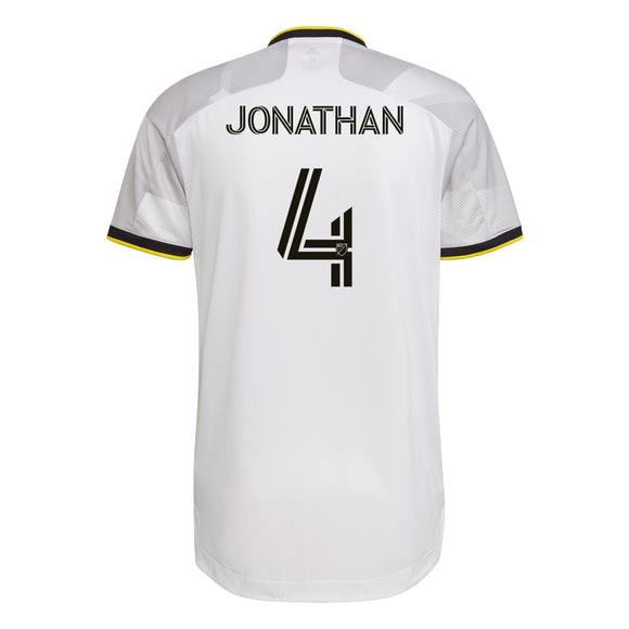COLUMBUS CREW SC MEN'S GREY NATIONWIDE AUTHENTIC JONATHAN JERSEY - Columbus Soccer Shop