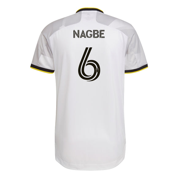 COLUMBUS CREW SC MEN'S GREY NATIONWIDE AUTHENTIC NAGBE JERSEY - Columbus Soccer Shop