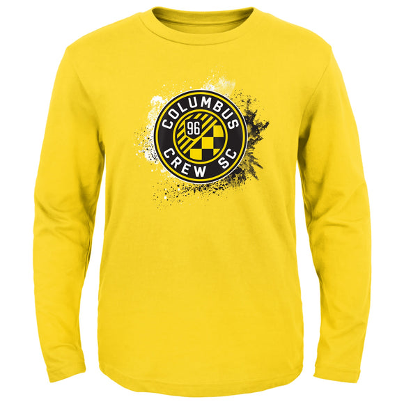 Columbus Crew SC Toddler Splashin L/S Tee - Columbus Soccer Shop